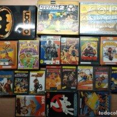 Videojuegos y Consolas: LOTE 20 JUEGOS CASSETTE ORIGINALES ORDENADOR COMMODORE 64/128 CHASE HQ TOUR DE FRANCE OTROS. Lote 210155306
