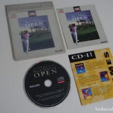 Videojuegos y Consolas: PHILIPS CDI - THE PALM SPRINGS OPEN COMPACT DISC CD-I. Lote 210585027