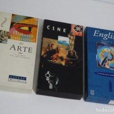 Videojuegos y Consolas: PHILIPS CDI - LOTE COMPUESTO POR 2 PELÍCULAS + HISTORIA UNIVERSAL + INGLÉS 1ER. NIVEL TODO ESPAÑOL. Lote 210591700