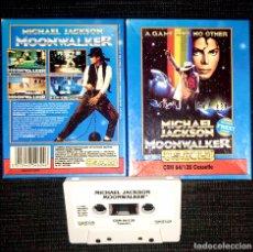 Videojuegos y Consolas: MICHAEL JACKSON MOONWALKER - VIDEOJUEGO COMMODORE SPECTRUM 64 C64 PC CASSETTE AMSTRAD 1989 RARO. Lote 211605341