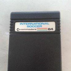 Videojuegos y Consolas: CARTUCHO COMMODORE 64 INTERNATIONAL SOCCER. Lote 213155180
