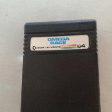 Videojuegos y Consolas: CARTUCHO COMMODORE 64 OMEGA RACE. Lote 213155510