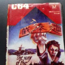 Videojuegos y Consolas: THE WAY OF THE EXPLODING FIST - COMMODORE 64. Lote 213181641
