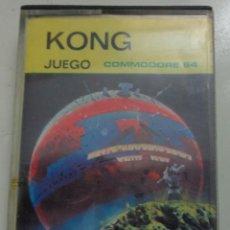Videojuegos y Consolas: JUEGO 'KONG' COMMODORE 64. Lote 213196310