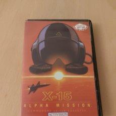 Videojuegos y Consolas: X 15 ALPHA MISSION-JUEGO EN CINTA PARA COMMODORE 64/128 COMPLETO. Lote 215482137