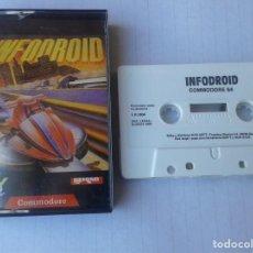 Videojuegos y Consolas: INFODROID - CINTA COMMODORE 64. Lote 215663190
