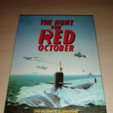 Videojuegos y Consolas: THE HUNT FOR RED OCTOBER - COMMODORE 64/128 - DISCO 5 1/4. Lote 217625120
