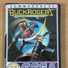 Videogiochi e Consoli: JUEGO VINTAGE PARA CBM COMMODORE 64 C64 - BUCK ROGERS - PLANET OF ZOOM. SEGA / US GOLD, 1983. Lote 218102962
