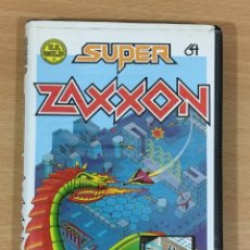 Videojuegos y Consolas: JUEGO VINTAGE PARA CBM COMMODORE 64 C64 - SUPER ZAXXON. US GOLD / ERBE SOFTWARE, 1985. Lote 218103368