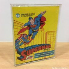Videojuegos y Consolas: JUEGO VINTAGE PARA CBM COMMODORE 64 C64 - SUPERMAN THE GAME. FIRST STAR, 1986. Lote 218105508