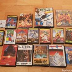 Videojuegos y Consolas: COMMODORE AMSTRAD GRAN LOTE DE 17 JUEGOS ORIGINALES EN CAJAS GRAN ESTADO ORIGINALES. Lote 218159933