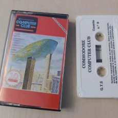 Videojuegos y Consolas: JUEGO ORDENADOR COMMODORE - COMPUTER CLUB Nº 9 - 10 PROGAMAS. Lote 219087292