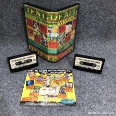 Videojuegos y Consolas: TEN GREAT GAMES COMMODORE. Lote 219136631