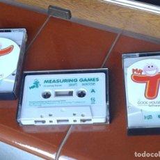 Videojuegos y Consolas: MR T JUEGOS COMMODORE - TRES CINTAS Y DOS CUADERNILLOS. Lote 219640058