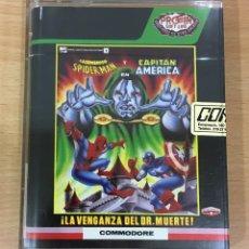 Videojuegos y Consolas: JUEGO PARA CBM COMMODORE 64 C64 - LA VENGANZA DEL DOCTOR MUERTE - DOOM VS SPIDERMAN. PROEIN, 1989. Lote 220750130