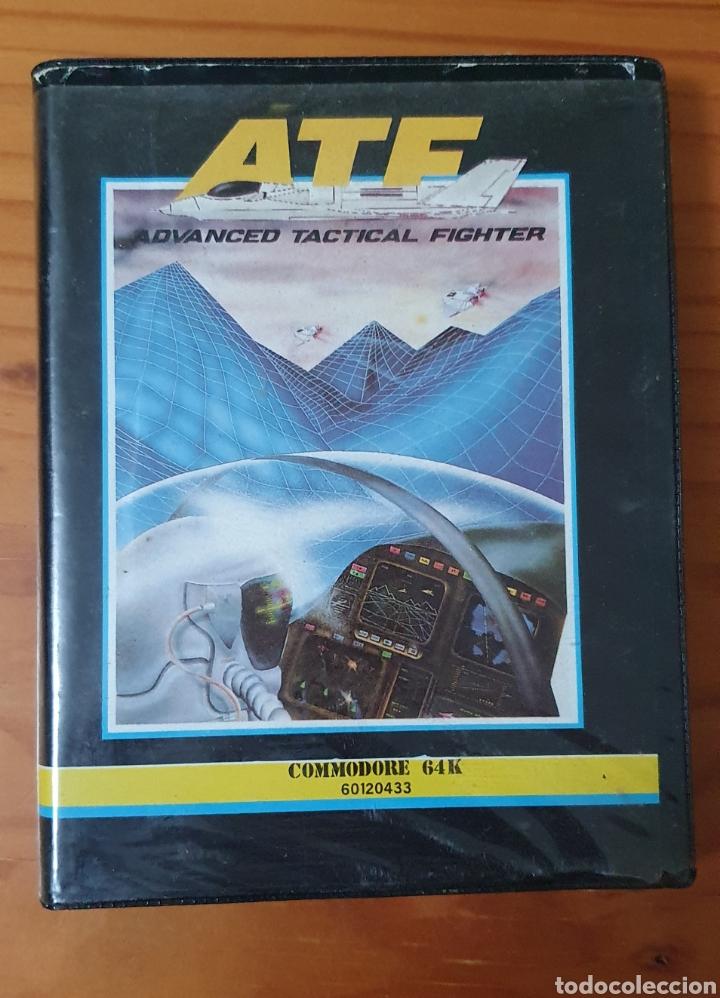 JUEGO COMMODORE ATF ADVANCE TACTICAL FIGHT AÑOS 80 EN CAJA ORIGINAL (Juguetes - Videojuegos y Consolas - Commodore)