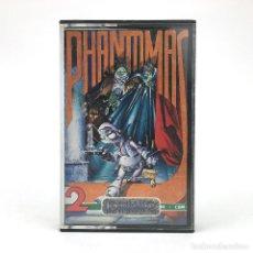 Videojogos e Consolas: PHANTOMAS 2 DINAMIC SOFTWARE / CODE MASTERS ALFONSO AZPIRI VAMPIRE CBM COMMODORE 64 128 C64 CASSETTE. Lote 228223345