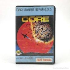Videojuegos y Consolas: CORE ESTUCHE MIND GAMES ESPAÑA TRANSMISION EMERGENCIA REPROGEST JUEGO COMMODORE 64 128 C64 CASSETTE. Lote 228440365