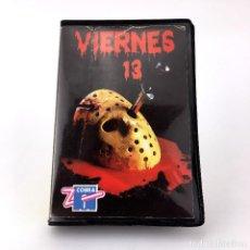 Videojuegos y Consolas: VIERNES 13 ESTUCHE ZAFIRO ESPAÑA DOMARK 1986 JASON VOORHEES TERROR CBM COMMODORE 64 128 C64 CASSETTE. Lote 229134875