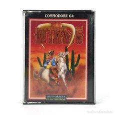 Videojuegos y Consolas: OUTLAWS ULTIMATE PLAY THE GAME BANDOLEROS JUEGO CLASICO DE 8 BITS CBM COMMODORE 64 128 C64 CASSETTE. Lote 229523050