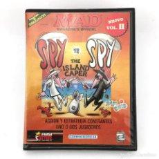 Videojuegos y Consolas: SPY VS SPY / ESTUCHE XL ZAFIRO ESPAÑA ZAFI CHIP FIRST STAR REVISTA MAD COMMODORE 64 128 C64 CASSETTE. Lote 229635325
