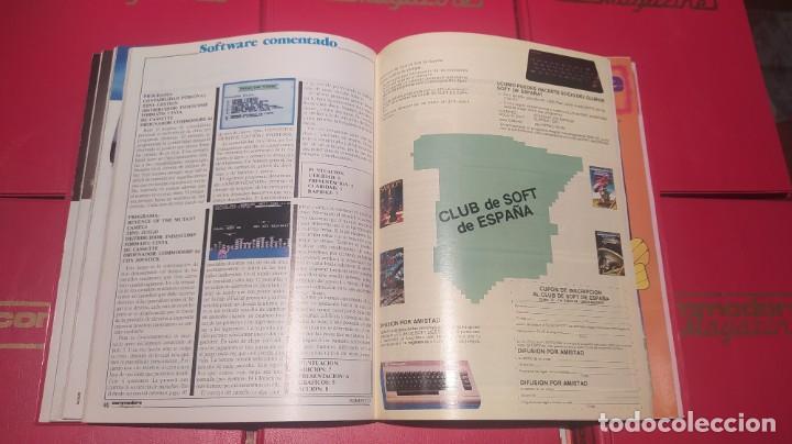 Videojuegos y Consolas: COLECCIÓN COMPLETA REVISTAS COMMODORE MAGAZINE (1-40) SALVO LA 30. NO SPECTRUM, MSX, AMSTRAD - Foto 3 - 229928905