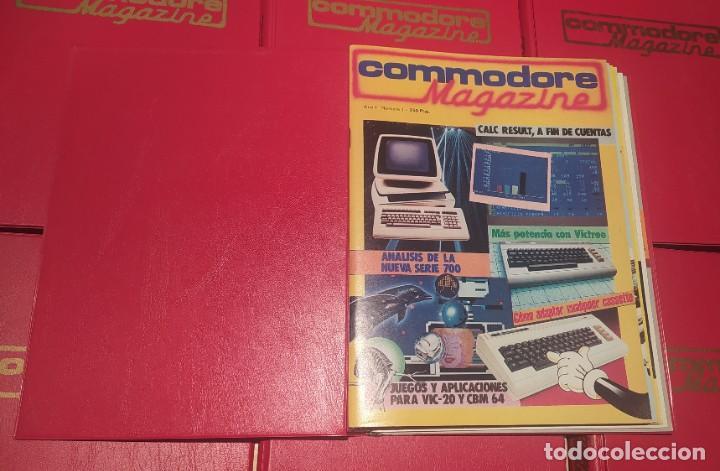 Videojuegos y Consolas: COLECCIÓN COMPLETA REVISTAS COMMODORE MAGAZINE (1-40) SALVO LA 30. NO SPECTRUM, MSX, AMSTRAD - Foto 5 - 229928905