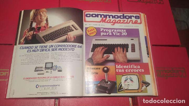 Videojuegos y Consolas: COLECCIÓN COMPLETA REVISTAS COMMODORE MAGAZINE (1-40) SALVO LA 30. NO SPECTRUM, MSX, AMSTRAD - Foto 6 - 229928905