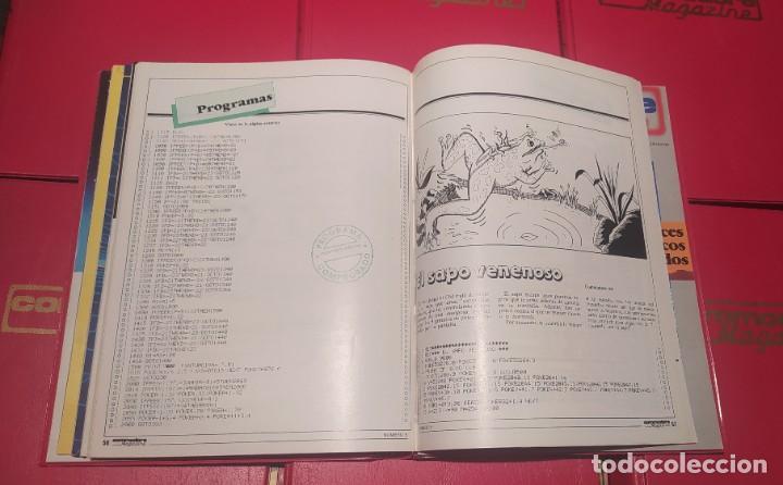 Videojuegos y Consolas: COLECCIÓN COMPLETA REVISTAS COMMODORE MAGAZINE (1-40) SALVO LA 30. NO SPECTRUM, MSX, AMSTRAD - Foto 8 - 229928905