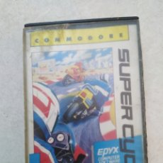 Videojuegos y Consolas: SÚPER CYCLE, COMMODORE. Lote 230083255