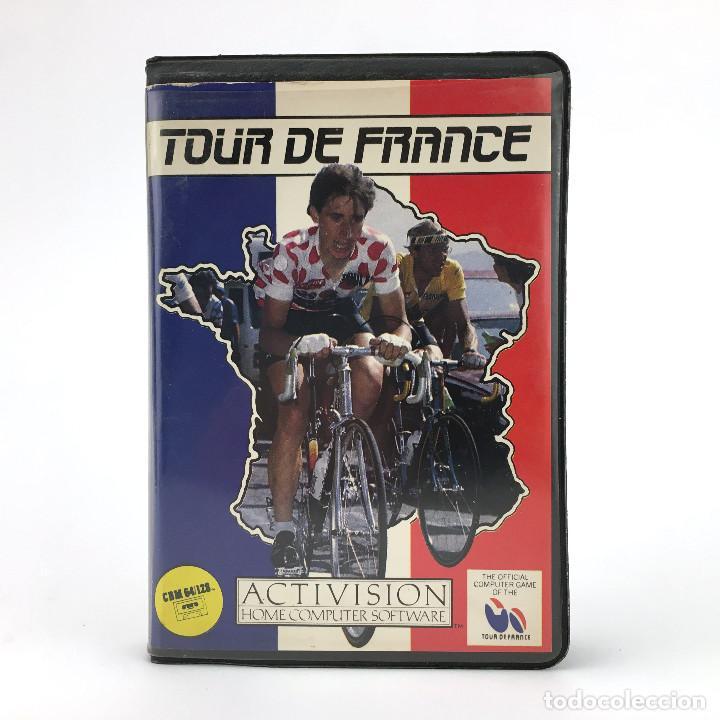 TOUR DE FRANCE. ESTUCHE PROEIN ESPAÑA / ACTIVISION SPORTS CICLISMO CBM COMMODORE 64 128 C64 CASSETTE (Juguetes - Videojuegos y Consolas - Commodore)