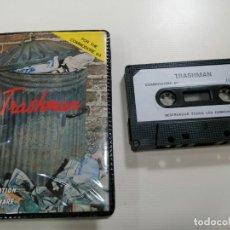 Videojuegos y Consolas: TRASHMAN - JUEGO COMMODORE 64 C64 COMPLETO - NEW GENERATION SOFTWARE LTD. 1984 - EXCELENTE ESTADO. Lote 231408170