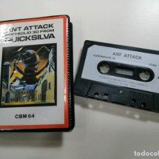 Videojuegos y Consolas: ANT ATTACK - JUEGO COMMODORE 64 C64 COMPLETO - QUICKSILVA LTD. 1984 - EXCELENTE ESTADO - RARO. Lote 231414310