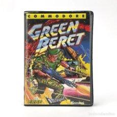 Videojuegos y Consolas: GREEN BERET · ESTUCHE ERBE IMAGINE KONAMI 1986 JUEGO DE ORDENADOR COMMODORE 64 128 CBM C64 CASSETTE. Lote 231569975