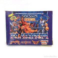 Videojuegos y Consolas: PLATINUM ERBE GHOULS´N GHOSTS STRIDER LED STORM FORGOTTEN WORLDS BLACK TIGER / COMMODORE 64 CASSETTE. Lote 231866405