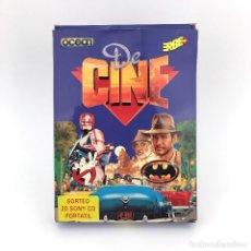 Videojuegos y Consolas: DE CINE INDIANA JONES Y LA ULTIMA CRUZADA BATMAN ROBOCOP CAZAFANTASMAS 2 COMMODORE 64 / C64 CASSETTE. Lote 231866695
