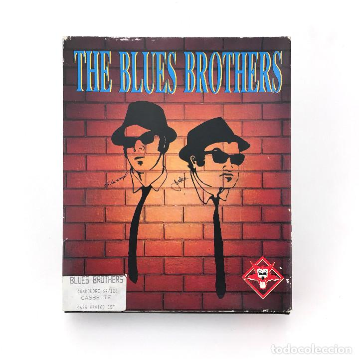 THE BLUES BROTHERS PROEIN ESPAÑA TITUS GRANUJAS A TODO RITMO JUEGO CBM COMMODORE 64 128 C64 CASSETTE (Juguetes - Videojuegos y Consolas - Commodore)