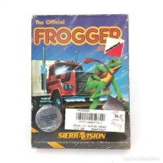 Videogiochi e Consoli: FROGGER SIERRA VISION SEGA CHUCK BENTON 1981 LEAP FROG JUMPIN' JACK FROGGY C64 COMMODORE 64 CASSETTE. Lote 231908190