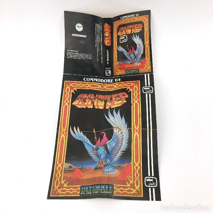 Videojuegos y Consolas: IMHOTEP ESTUCHE ABC SOFT ULTIMATE PLAY THE GAME 1985 JUEGO EGIPTO CBM COMMODORE 64 128 C64 CASSETTE - Foto 4 - 231953680