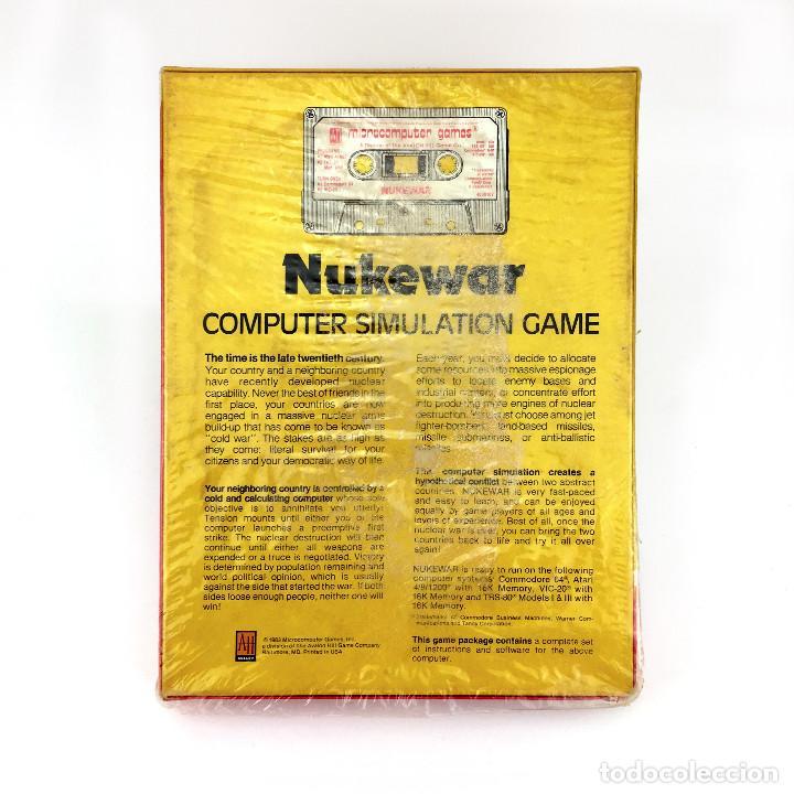 Videojuegos y Consolas: NUKEWAR ATARI 16K TRS-80 I III IV + COMMODORE 64 y tambien VIC-20 64K AVALON HILL C64 NUEVO CAJA XL - Foto 2 - 232081370