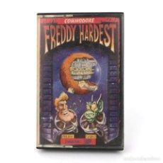 Videojuegos y Consolas: FREDDY HARDEST DINAMIC SOFTWARE 1987 VENTURA Y NIETO VIDEOAVENTURA CBM COMMODORE 64 128 C64 CASSETTE. Lote 233231950