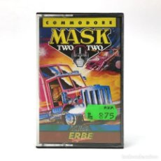 Videojuegos y Consolas: MASK TWO II - ERBE LOMO AMARILLO GREMLIN GRAPHICS TRANSFORMERS VENOM 2 COMMODORE 64 128 C64 CASSETTE. Lote 233618215