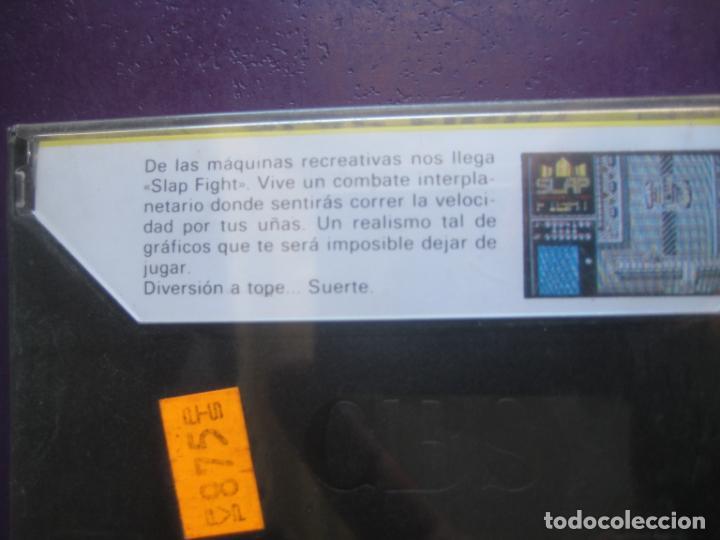Videojuegos y Consolas: SLAP FIGHT - COMMODORE - PRECINTADO - VIDEOJUEGO VINTAGE - ERBE TAITO - Foto 2 - 235926975
