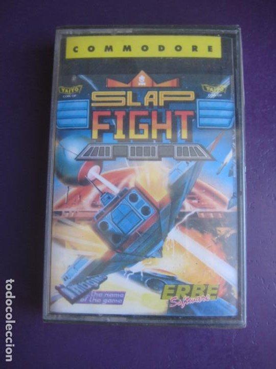 SLAP FIGHT - COMMODORE - PRECINTADO - VIDEOJUEGO VINTAGE - ERBE TAITO (Juguetes - Videojuegos y Consolas - Commodore)