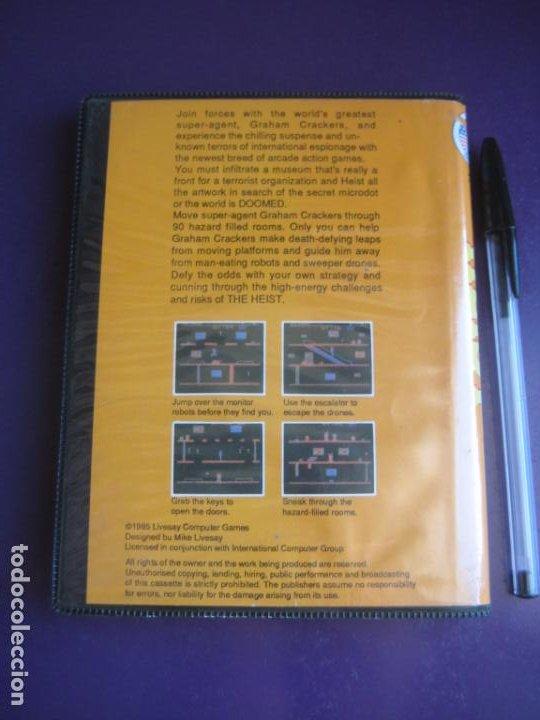 Videojuegos y Consolas: THE HEIST - COMMODORE 64 + MSX 64K - VIDEOJUEGO VINTAGE 80S - VERSION ESPAÑOLA - AACKOSOFT - Foto 2 - 236095465