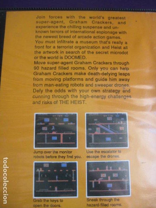 Videojuegos y Consolas: THE HEIST - COMMODORE 64 + MSX 64K - VIDEOJUEGO VINTAGE 80S - VERSION ESPAÑOLA - AACKOSOFT - Foto 3 - 236095465