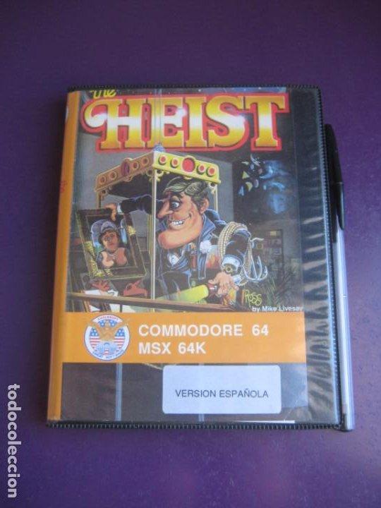 THE HEIST - COMMODORE 64 + MSX 64K - VIDEOJUEGO VINTAGE 80'S - VERSION ESPAÑOLA - AACKOSOFT (Juguetes - Videojuegos y Consolas - Commodore)