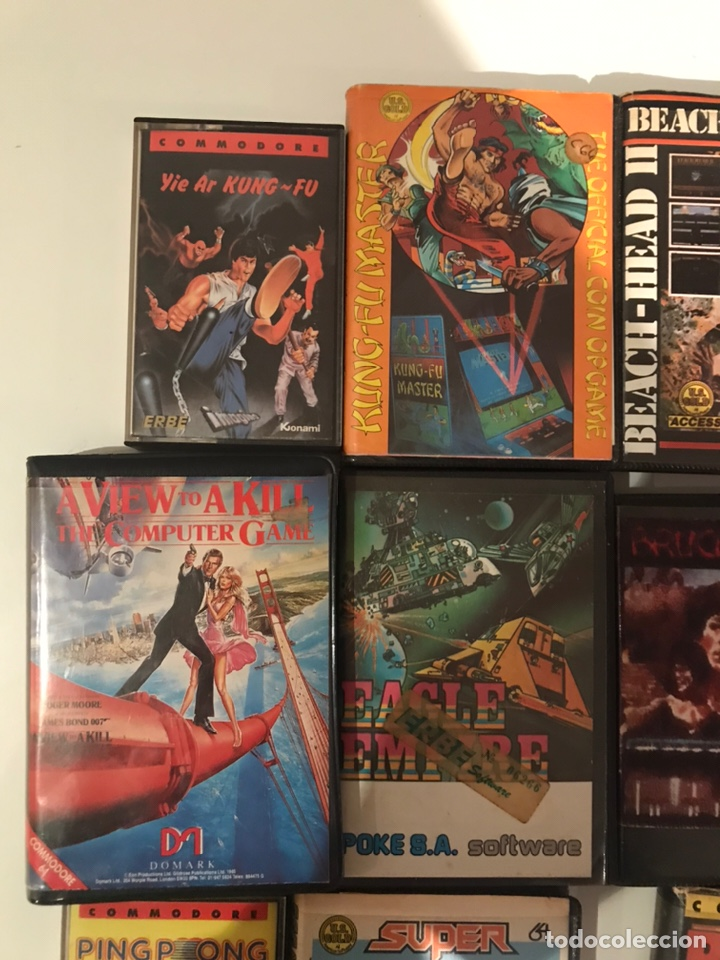 Videojuegos y Consolas: Lote 11 juegos commodore 64 - Foto 3 - 236259635