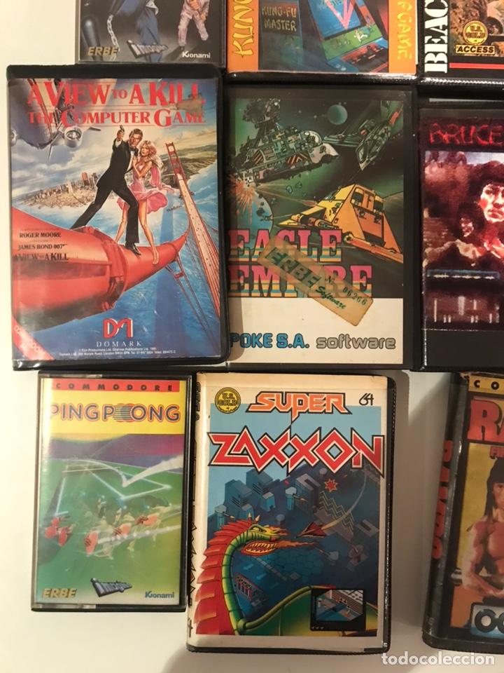 Videojuegos y Consolas: Lote 11 juegos commodore 64 - Foto 4 - 236259635