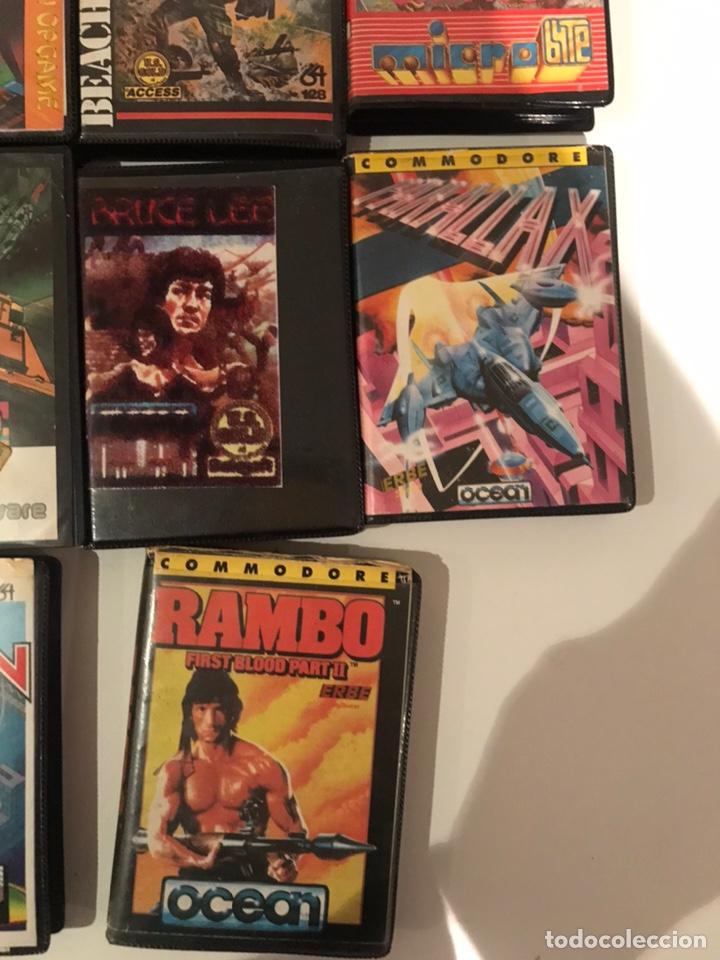 Videojuegos y Consolas: Lote 11 juegos commodore 64 - Foto 5 - 236259635